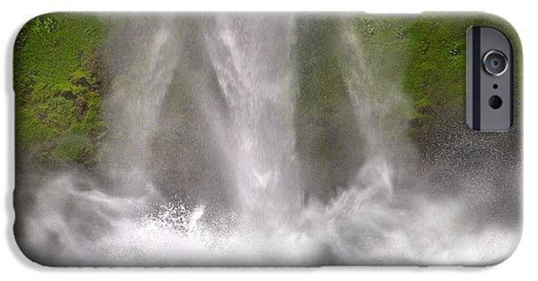 And Down Comes The Water IPhone Case by Betsy C Knapp