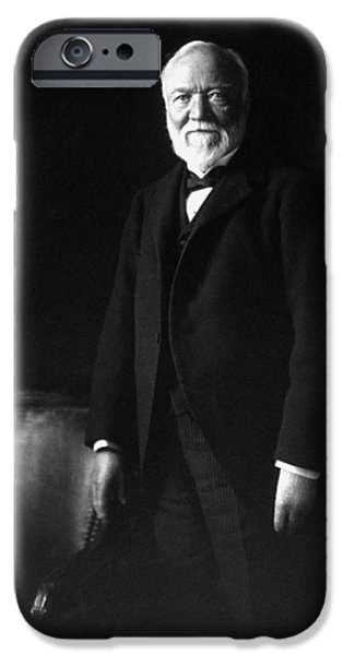 Andrew Carnegie IPhone Case by War Is Hell Store