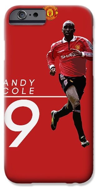 Andy Cole IPhone 6s Case by Semih Yurdabak