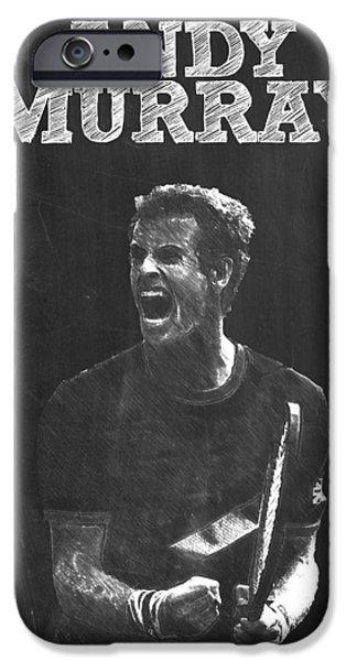 Andy Murray IPhone 6s Case by Semih Yurdabak