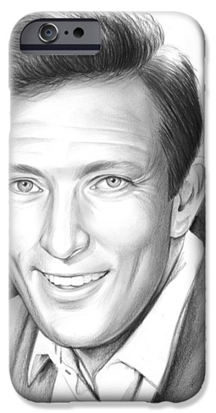 Andy Williams IPhone Case by Greg Joens
