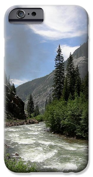 Animas River IPhone Case by Jared May