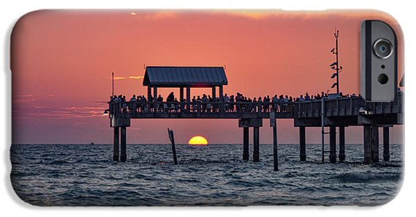 Another Day In Paradise On Clearwater Beach IPhone Case by Bill Cannon