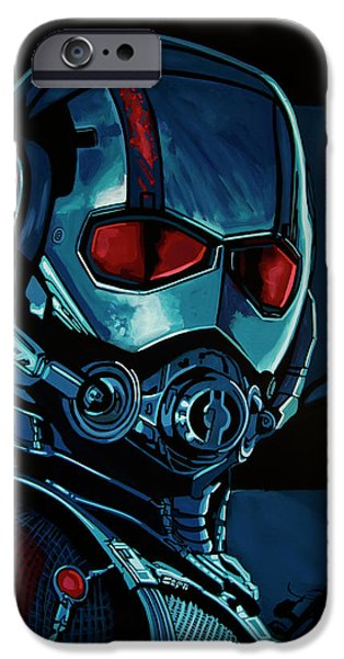 Ant Man Painting IPhone 6s Case by Paul Meijering