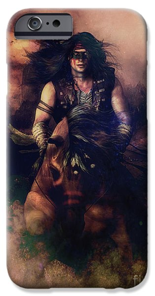 Apache Warrior IPhone Case by Shanina Conway