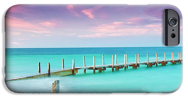 Aqua Waters  IPhone Case by Az Jackson