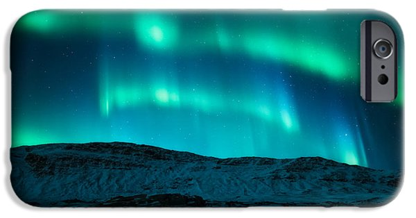 Arctic Glow IPhone Case by Tor-Ivar Naess