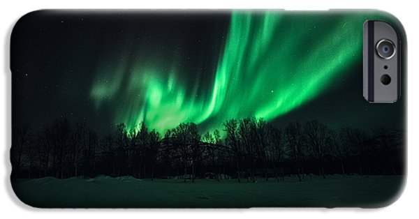 Arrival IPhone Case by Tor-Ivar Naess