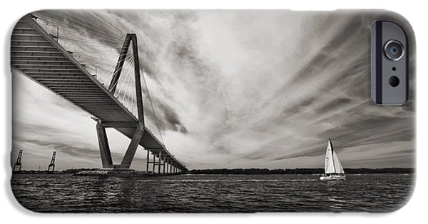 Arthur Ravenel Jr. Bridge Over The Cooper River IPhone Case by Dustin K Ryan