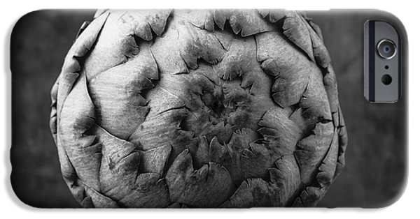 Artichoke Black And White Still Life Two IPhone 6s Case by Edward Fielding