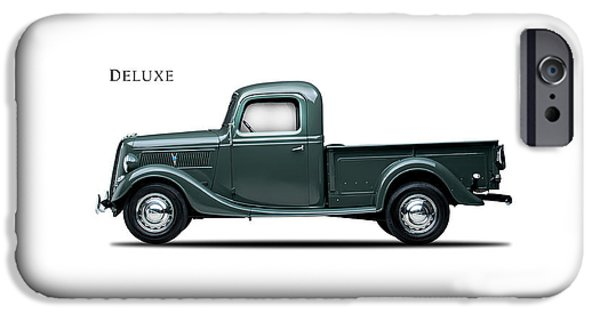 Ford Deluxe Pickup 1937 IPhone Case by Mark Rogan