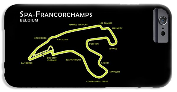 Spa Francorchamps IPhone Case by Mark Rogan