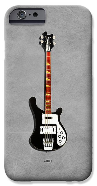Rickenbacker 4001 1979 IPhone Case by Mark Rogan