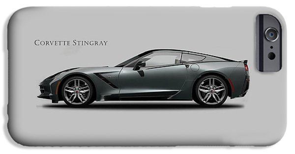 Corvette Stingray Coupe IPhone Case by Mark Rogan