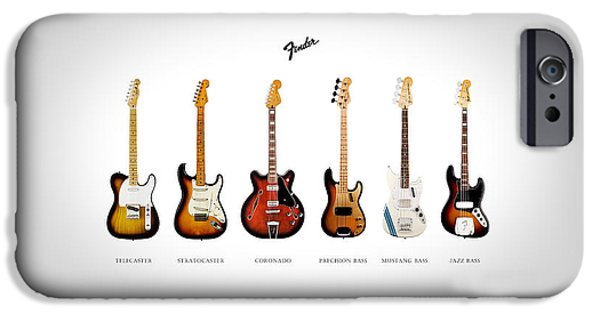 Fender Guitar Collection IPhone 6s Case by Mark Rogan
