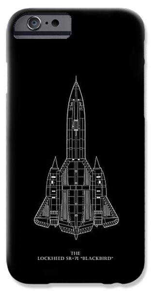 The Lockheed Sr-71 Blackbird IPhone 6s Case by Mark Rogan