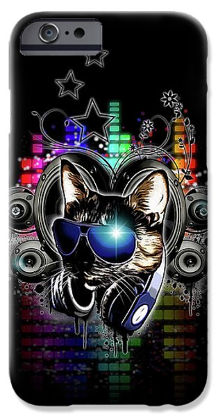 Drop The Bass IPhone Case by Nicklas Gustafsson