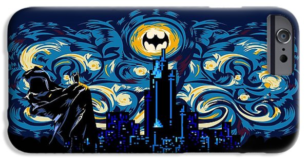 Starry Knight IPhone 6s Case by Three Second