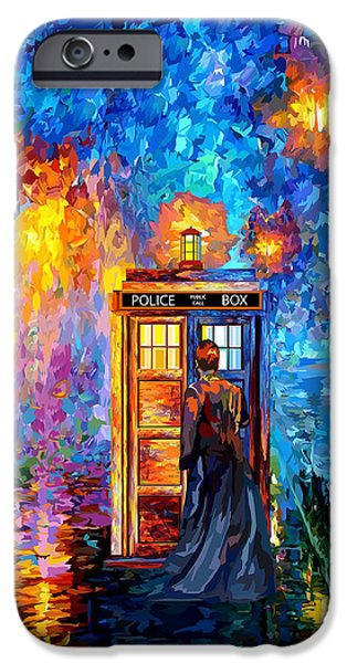 The Doctor Lost In Strange Town IPhone Case by Three Second
