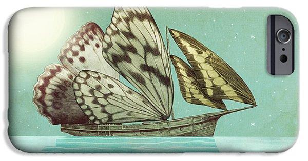 The Voyage IPhone Case by Eric Fan