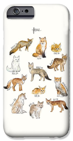 Foxes IPhone 6s Case by Amy Hamilton