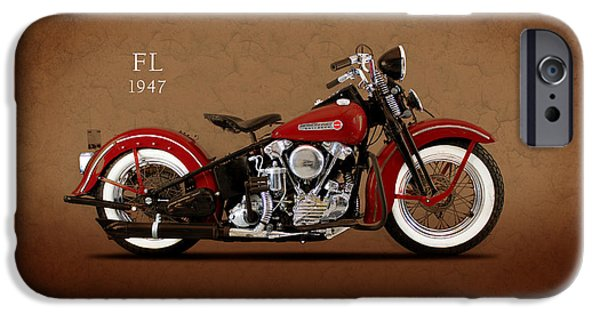 Harley Davidson Fl IPhone Case by Mark Rogan