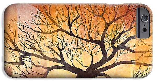 Halloween Tree IPhone Case by Thubakabra