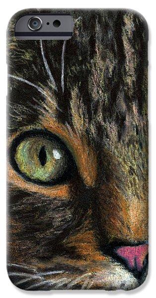 Mesmer Eyes Detail  IPhone Case by Sarah Batalka