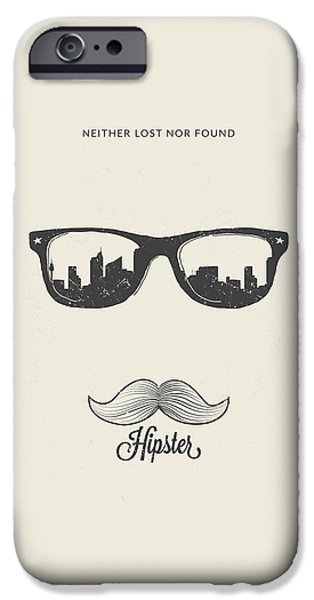 Hipster Neither Lost Nor Found IPhone Case by Bekare Creative