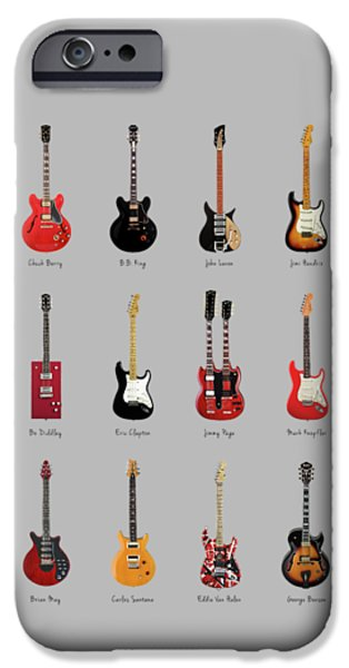Guitar Icons No1 IPhone 6s Case by Mark Rogan