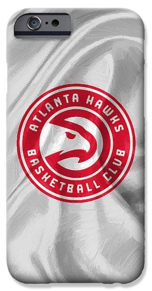 Atlanta Hawks IPhone Case by Afterdarkness