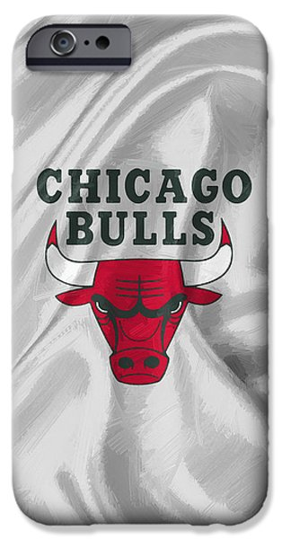 Chicago Bulls IPhone Case by Afterdarkness