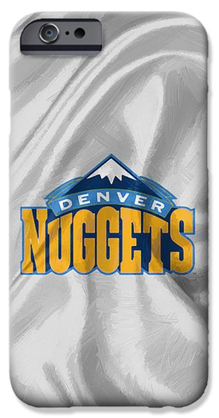 Denver Nuggets IPhone Case by Afterdarkness