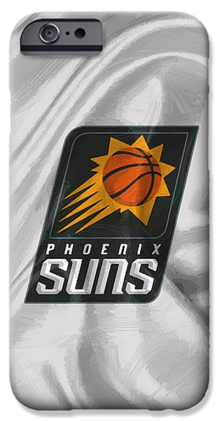 Phoenix Suns IPhone Case by Afterdarkness