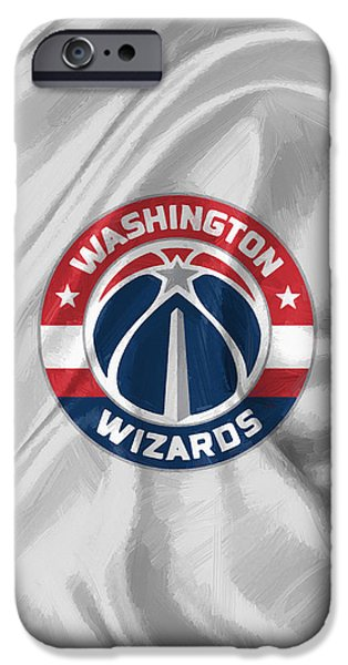 Washington Wizards IPhone Case by Afterdarkness
