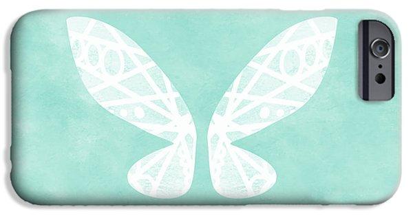 Fairy Wings- Art By Linda Woods IPhone Case by Linda Woods