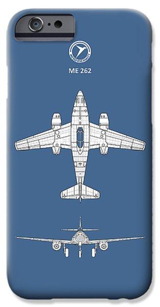 Messerschmitt Me 262 IPhone Case by Mark Rogan
