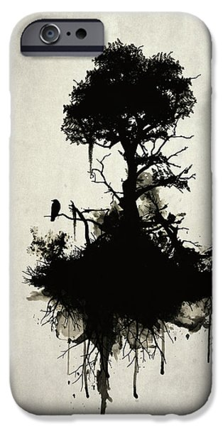 Last Tree Standing IPhone Case by Nicklas Gustafsson