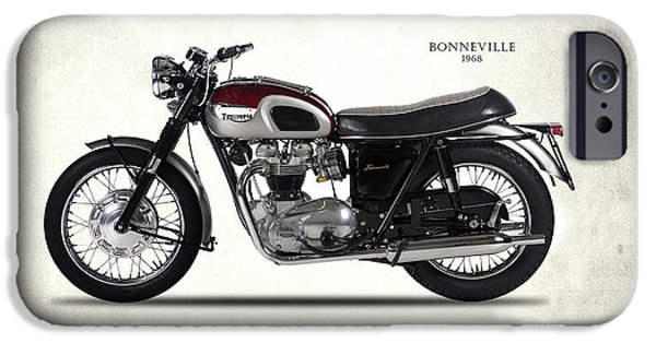 Triumph Bonneville 1968 IPhone 6s Case by Mark Rogan