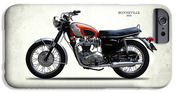 Triumph Bonneville 1969 IPhone 6s Case by Mark Rogan