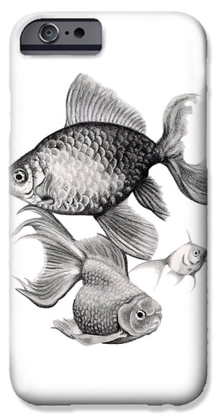 Goldfish IPhone 6s Case by Sarah Batalka