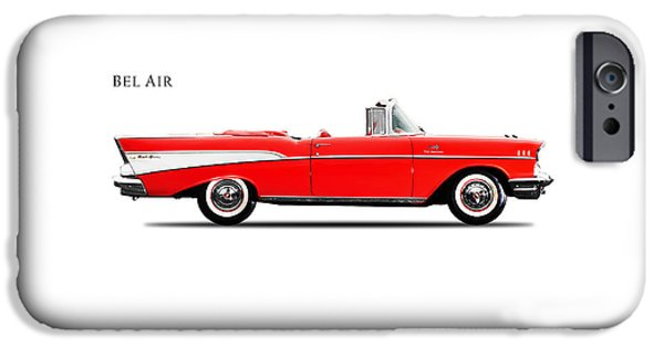 Chevrolet Bel Air Convertible 1957 IPhone Case by Mark Rogan