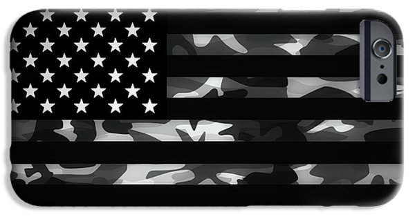 American Camouflage IPhone Case by Nicklas Gustafsson