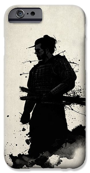 Samurai IPhone Case by Nicklas Gustafsson