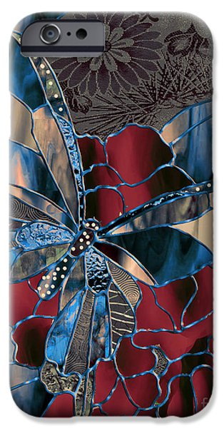 Asian Butterfly IPhone Case by Mindy Sommers