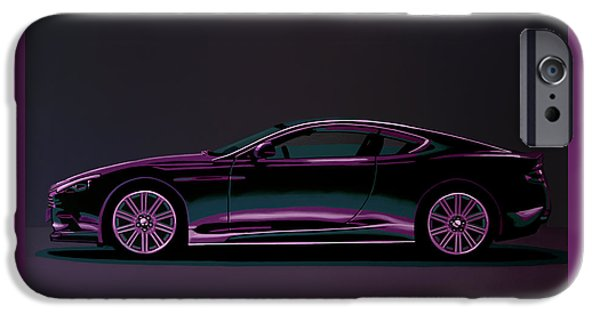 Aston Martin Dbs V12 2007 Painting IPhone Case by Paul Meijering