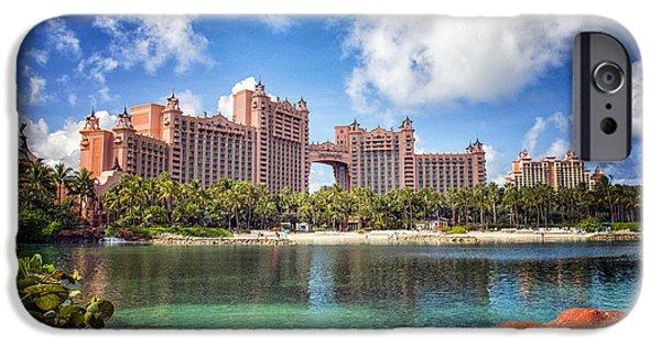 Atlantis Resort - Paradise Island -  - Bahamas IPhone Case by Jon Berghoff