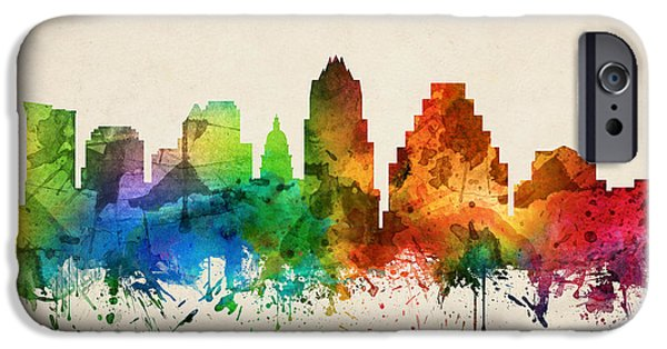 Austin Texas Skyline 05 IPhone 6s Case by Aged Pixel