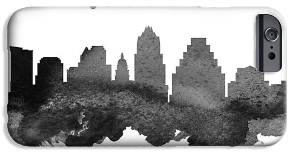 Austin Texas Skyline 18 IPhone 6s Case by Aged Pixel