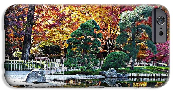 Autumn Glow In Manito Park IPhone Case by Carol Groenen